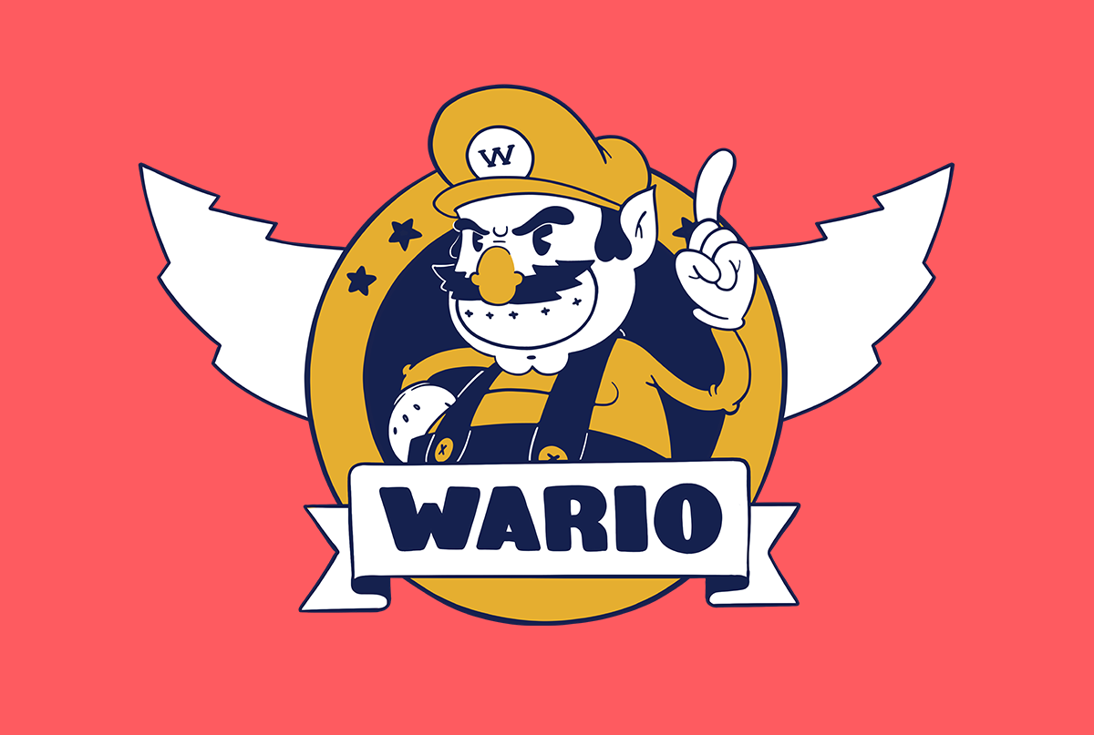 Wario the Treasurehog
